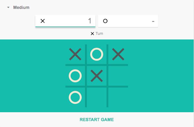 اگر بخواهید میتوانید این بازی را با هوش مصنوعی گوگل نیز بازی کنید