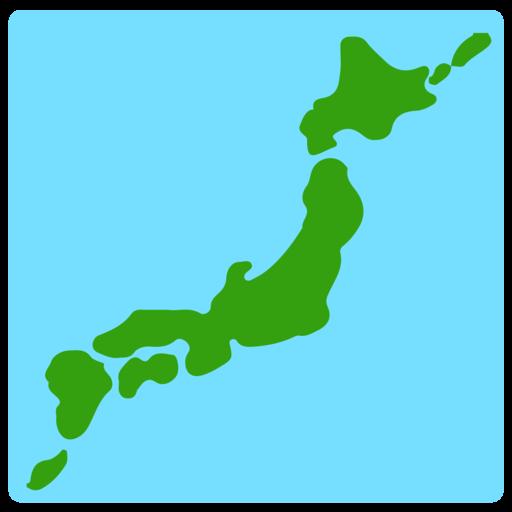 اموجی 🗾 map of japan