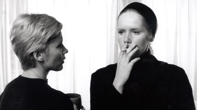 هنرنمایی Bibi Andersson و Liv Ullmann در فیلم پرسونا