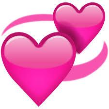 اموجی دو قلب 💕 یا two hearts