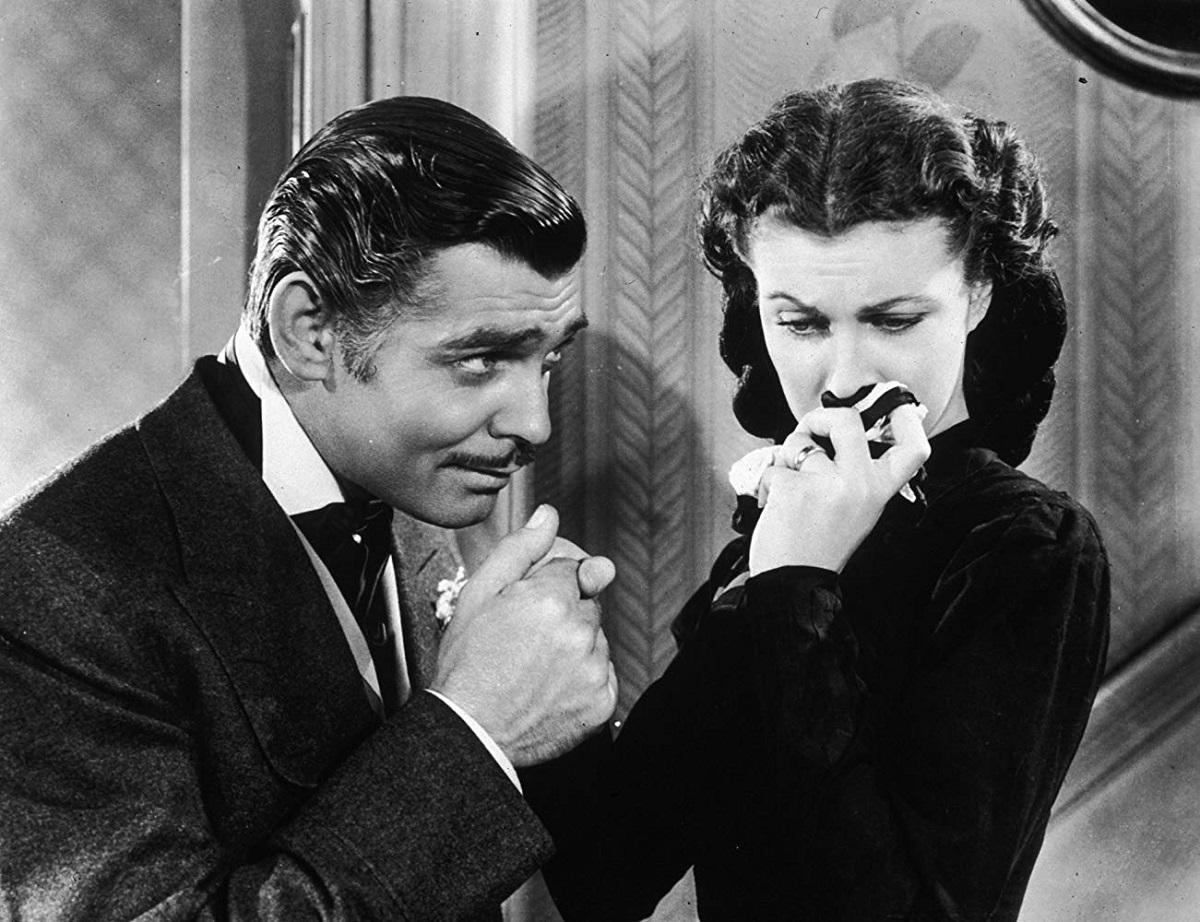 دو ستارهی بزرگ سینمای هالیوود، ویوین لی Vivien Leigh و کلارک گیبل Clark Gable نقشهای اصلی بر باد رفته را بازی کرده اند.