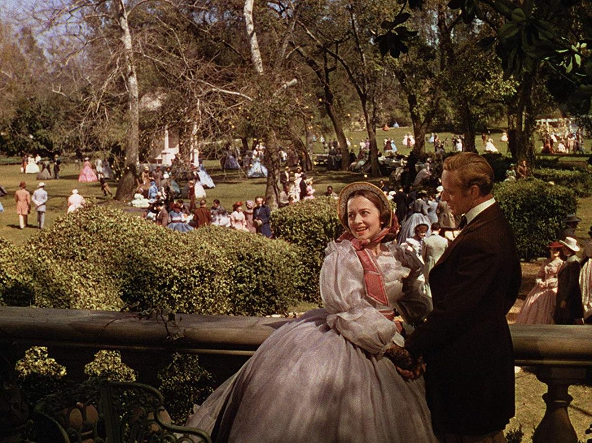 هنرنمایی Olivia de Havilland و Leslie Howard در فیلم بر باد رفته