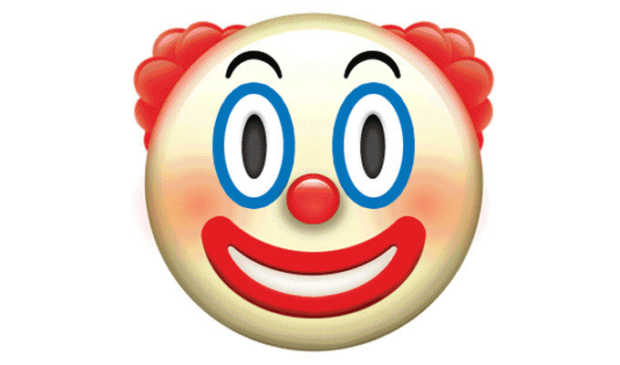 ایموجی 🤡 clown face