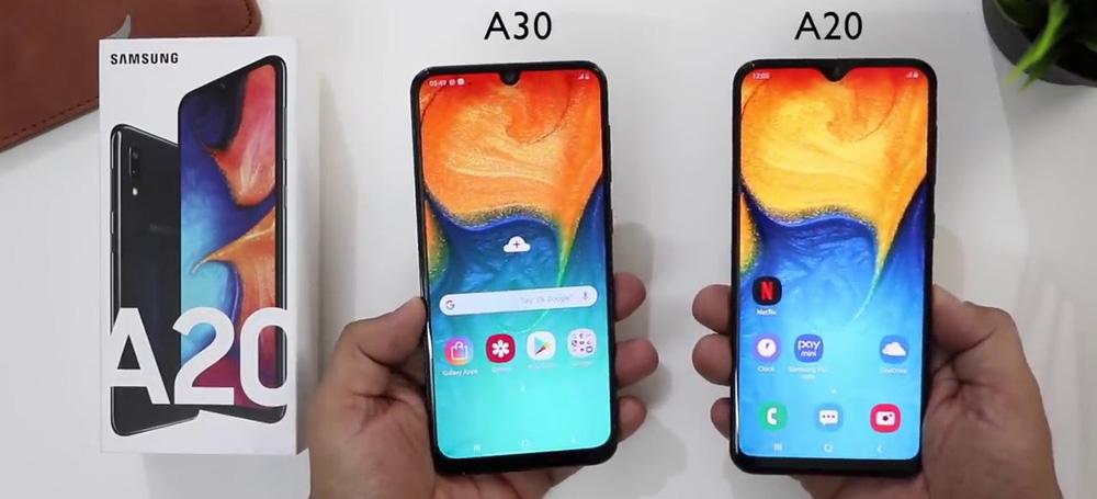 مقایسه A20 با A30
