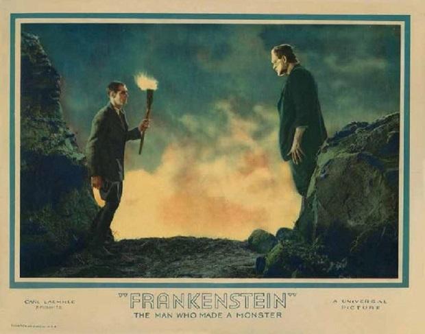 داستان فیلم Frankenstein ساخته 1931 اثر James Whale نیز دربارهی زیاده خواهی و چهرهی فاوست گونهی هنری فرانکشتاین است که روحش را در مقابل دانش معامله میکند؛ این دانش درابزار و تکنولوژی تجسم مییابد که به طور بالقوه هم به سود بشریت است و هم در جهت وحشت او کار کرد دارد.
