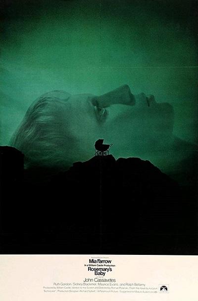 پوستر فیلم بچه رزماری Rosemary's Baby ساختهی رومن پولانسکی