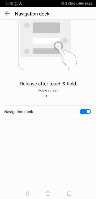 Navigation dock