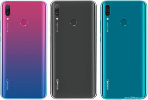 Huawei Y9 2019 در 3 رنگ مختلف
