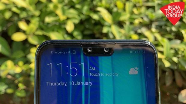 دوربین سلفی دوگانهی Huawei Y9 2019