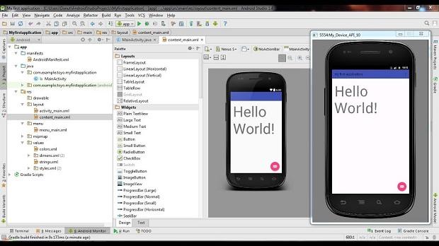 شبیه ساز اندروید Android Studio