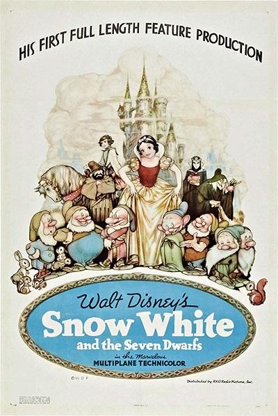 پوستر انیمیشن Snow White and the Seven Dwarfs سفید برفی و هفت کوتوله