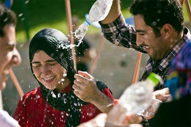 هنرنمایی نوید محمدزاده و باران کوثری در فیلم عصبانی نیستم