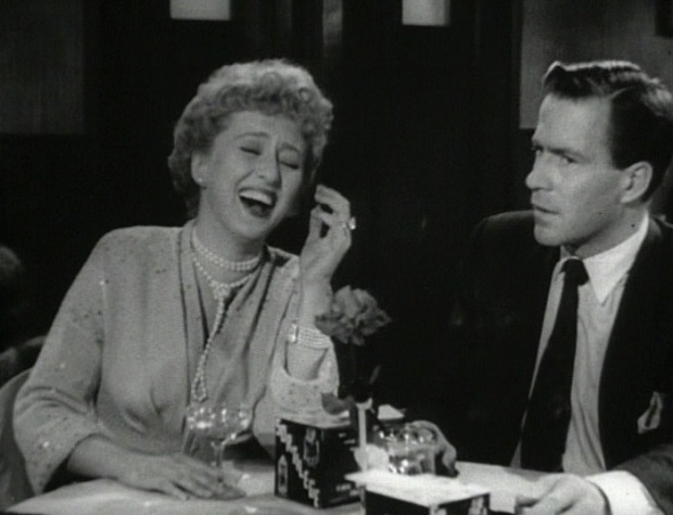 Celeste Holm و Hugh Marlowe در All About Eve