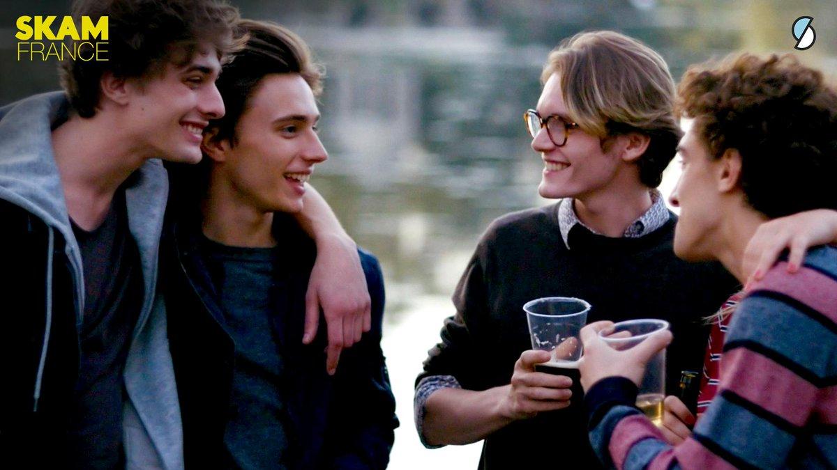 نقش آفرینی Maxence Danet-Fauvel, Axel Auriant, Paul Scarfoglio و Robin Migné در سریال Skam France