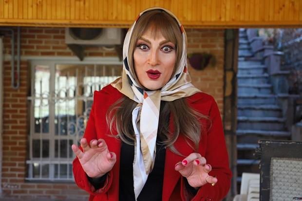 گریم متفاوت ارژنگ امیرفضلی در فیلم لازانیا