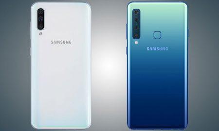 مقایسه A50 با A9 2018 | مقایسه Galaxy A50 با Galaxy A9 2018