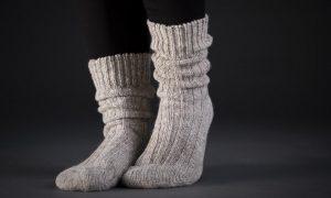 جوراب چین خورده یا Slouch socks