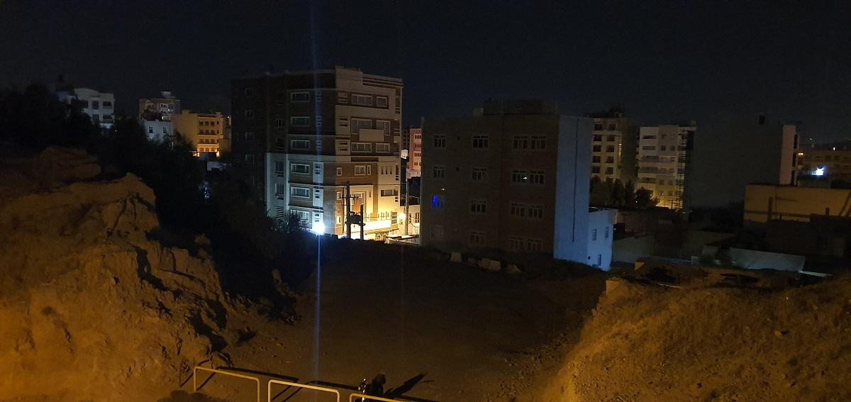 دوربین اصلی در هنگام شب، حالت استاندارد