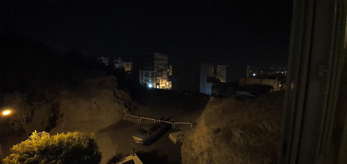 دوربین فوق عریض در هنگام شب، حالت استاندارد