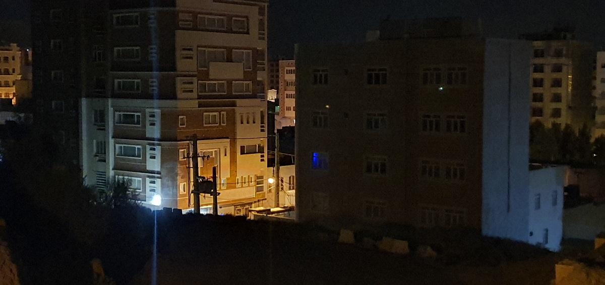 دوربین تله فوتو در هنگام شب، حالت استاندارد