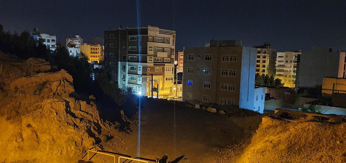 دوربین اصلی در هنگام شب، night mode
