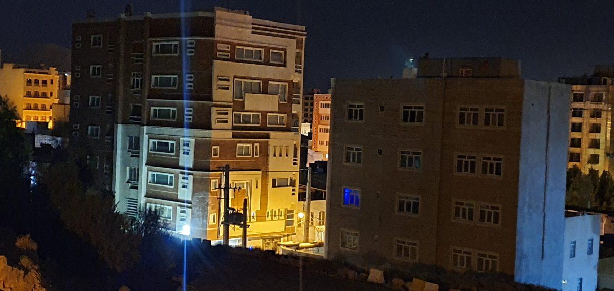 دوربین تله فوتو در هنگام شب، night mode