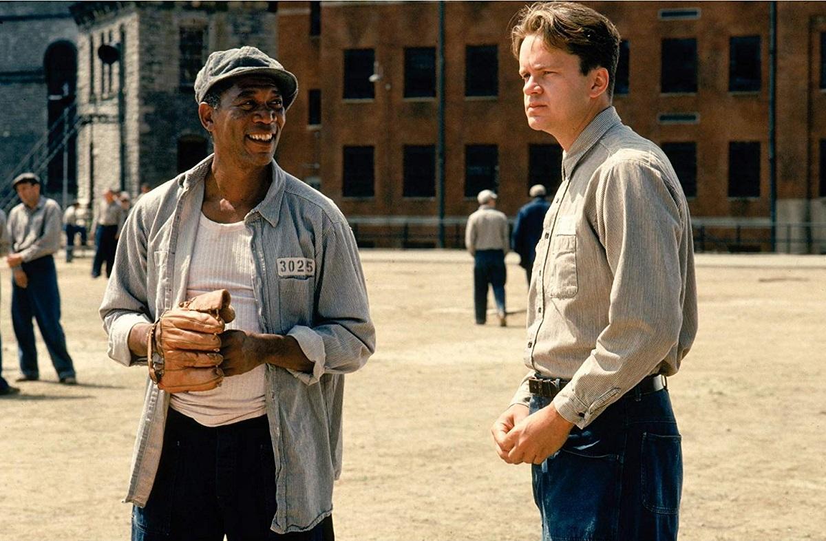 هنرنمایی فراموش نشدنی Morgan Freeman و Tim Robbins در فیلم رستگاری در شاوشنگ The Shawshank Redemption