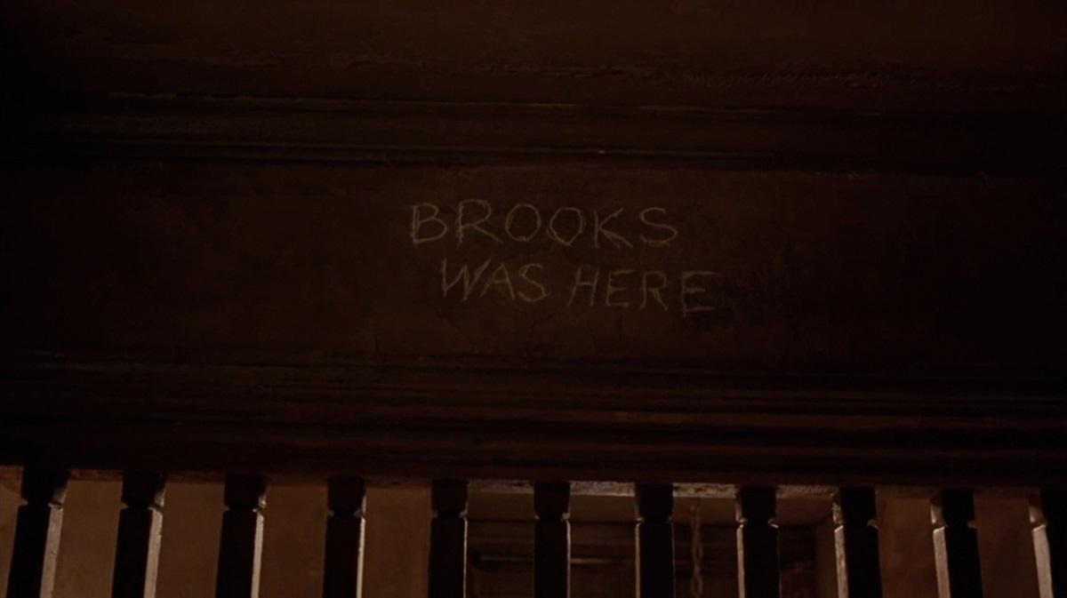 جمله هک شده BROOKS WAS HERE