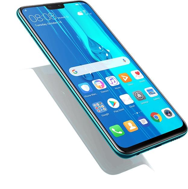 Huawei Y9 2019 اسمارت فونی باریک و خوش دست میباشد