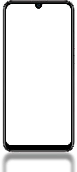حاشیههای دور نمایشگر P Smart 2019 بسیار کوچک میباشند