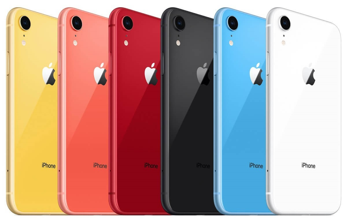 رنگبندی iPhone XR