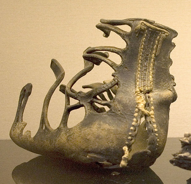 صندل کالیگ Caligae باقی مانده از زمان روم باستان