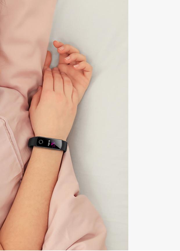 Honor Band 5 ساختار خواب شما را مشخص میکند و بر الگوهای تغییر خواب شما ناظر است.