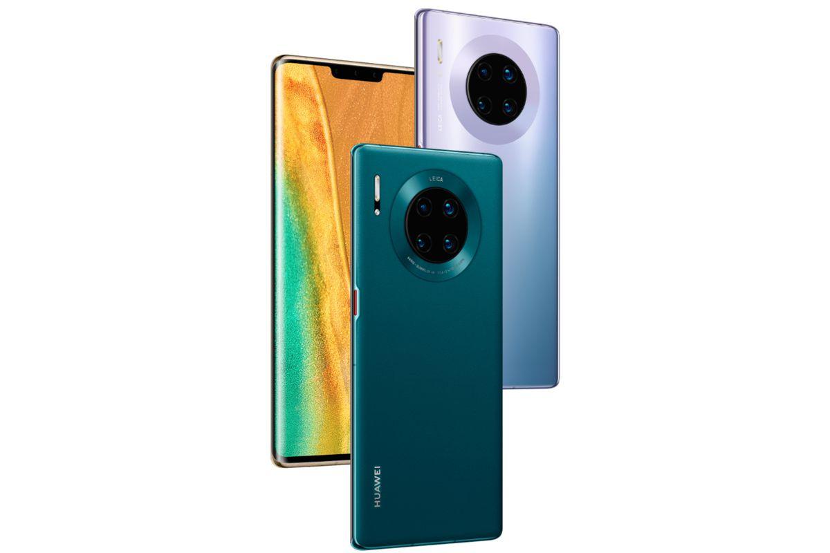 پشت و روی Huawei Mate 30 Pro از جنس شیشه (گوریلاگلس ۶) ساخته شده که با یک فریم آلومینیومی باکیفیت به یکدیگر متصل میشوند. این دستگاه ۱۹۸ گرم وزن داشته و ضخامت آن نیز ۸٫۸ میلی متر میباشد.
