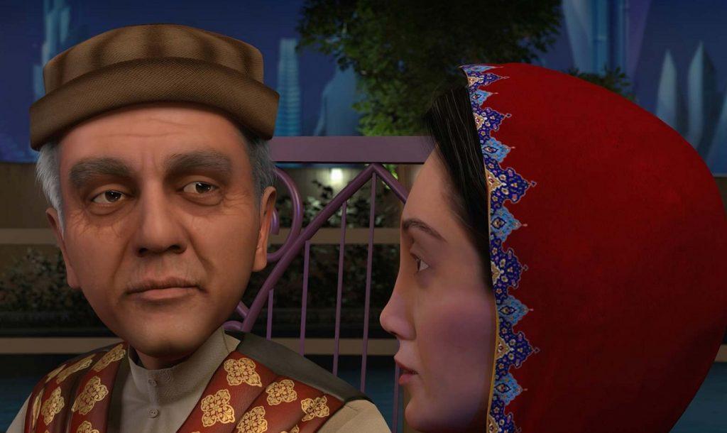 داستان انیمیشن تهران ۱۵۰۰ دربارهی گذشته و حال پیرمردی ۱۶۰ ساله به نام اکبر آقا با صداپیشگی مهران مدیری است و زمان داستان ۱۵ روز قبل از تحویل سال ۱۵۰۰ هجری شمسی است