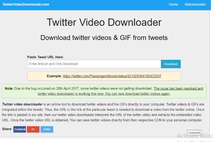 وبسایت twittervideodownloader.com روند دانلود از توییتر را برای شما آسان خواهد کرد
