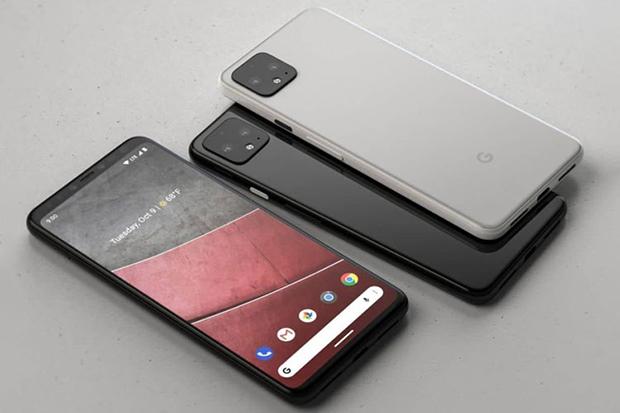 همانطور که در تصویر می بینید، حاشیه های صفحه نمایش و دوربین مربعی در این گوشی ظاهری متفاوت را به همراه داشته است.