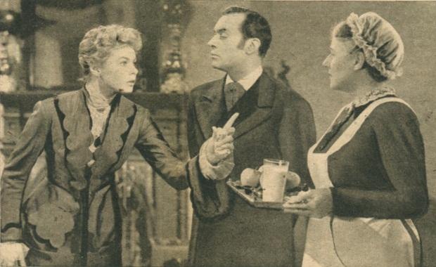 اینگرید برگمن Ingrid Bergman در فیلم چراغ گاز