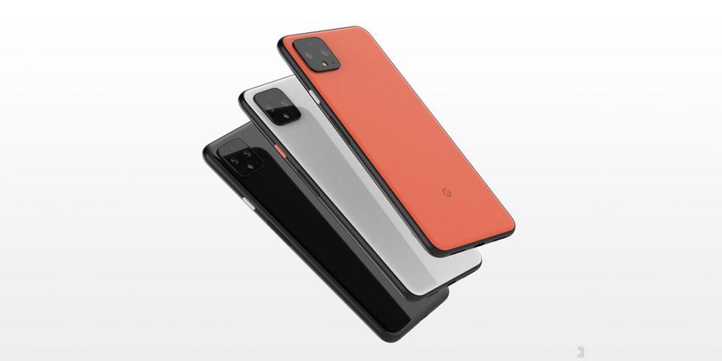 پیکسل 4 و 4 XL سه گزینه رنگی دارد: فقط سیاه ، واضح سفید (معروف به رنگ پنگوئن) ، و نسخه محدود Oh So Orange