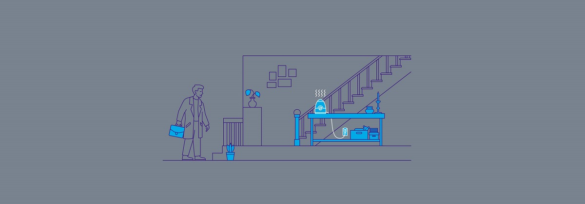 قبل از رسیدن به خانه بخارساز را روشن نمایید تا میزان رطوبت منزل شما تنظیم شود