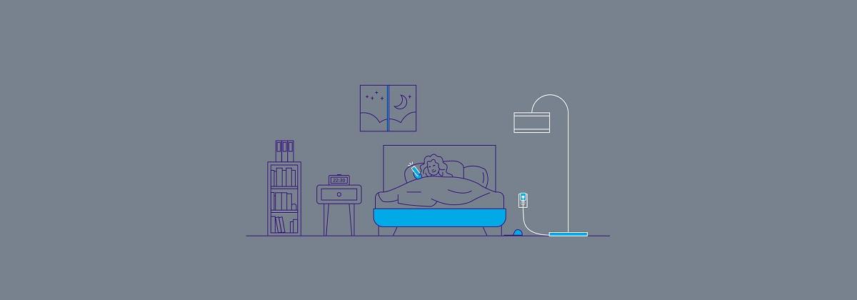 و سرانجام قبل از خواب تمامی لامپها را خاموش کنید