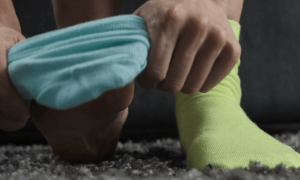 با جوراب