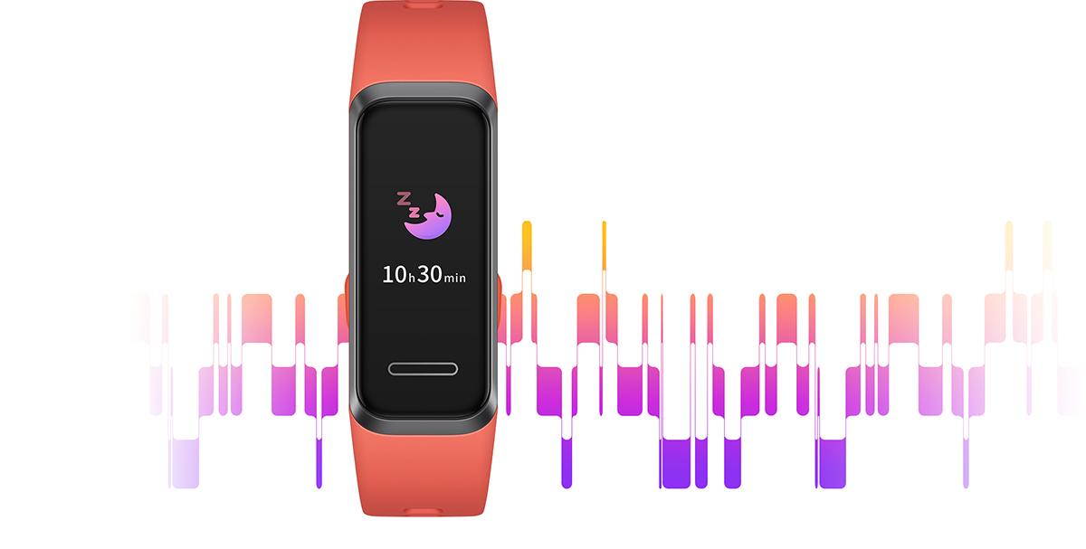 ردیابی ضربان قلب هوشمند در HUAWEI Band 4 به خوبی قابل استفاده است.