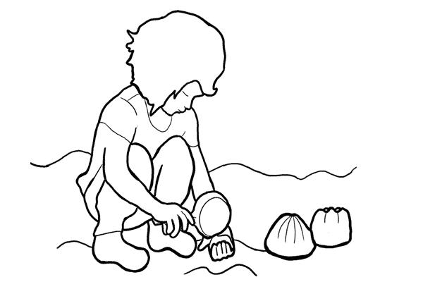 اکثریت کودک خاک بازی و بازی با شن و ماسه را خیلی دوست دارند. بازی کودکان با شن و ماسه یک محیط مناسب و ایده آل برای عکاسی از کودکان ایجاد میکند.