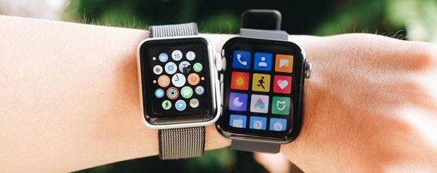 تاکنون Mi Watch به داشتن ظاهری شبیه Apple Watch متهم شده است. اما اگر از نزدیک نگاه کنید و تفاوتهای عمدهای را در طراحی اپل واچ و Mi Watch مشاهده خواهید کرد.