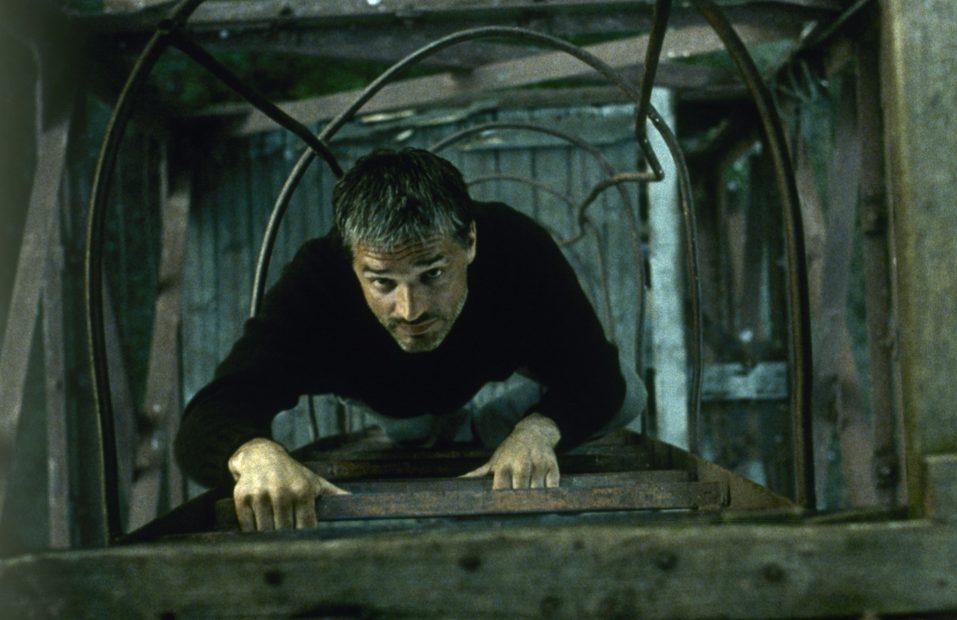 اینکه پدر کیست و چرا حالا در این برهه زمانی پیدایش شده است و از ماهی بیزار است، ما را به یاد یک قهرمان اسطورهای آرکی تایپی میاندازد.