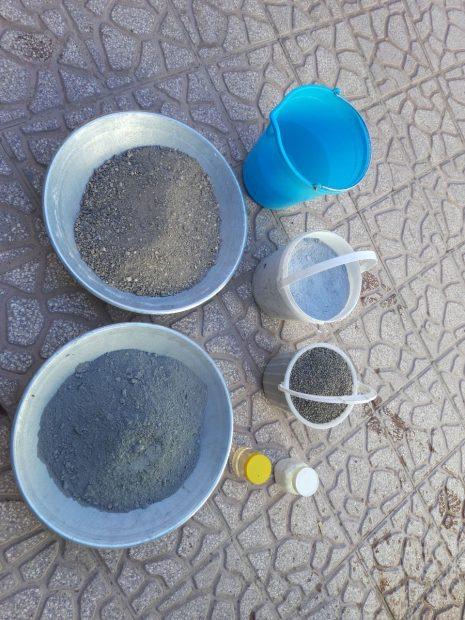 بتن از سیمان، آب، سنگدانه و افزودنی تشکیل میشود.